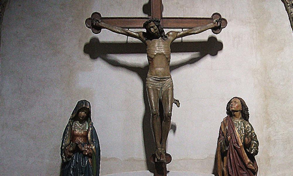 Jesus am Kreuz (Groß St. Martin, Köln)